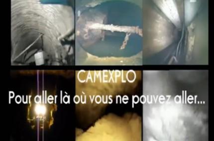 Présentation vidéo de la société CAMEXPLO