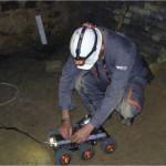 Installation d'un émetteur sur le robot Endurance