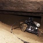Robot Endurance en progression sous un passage étroit
