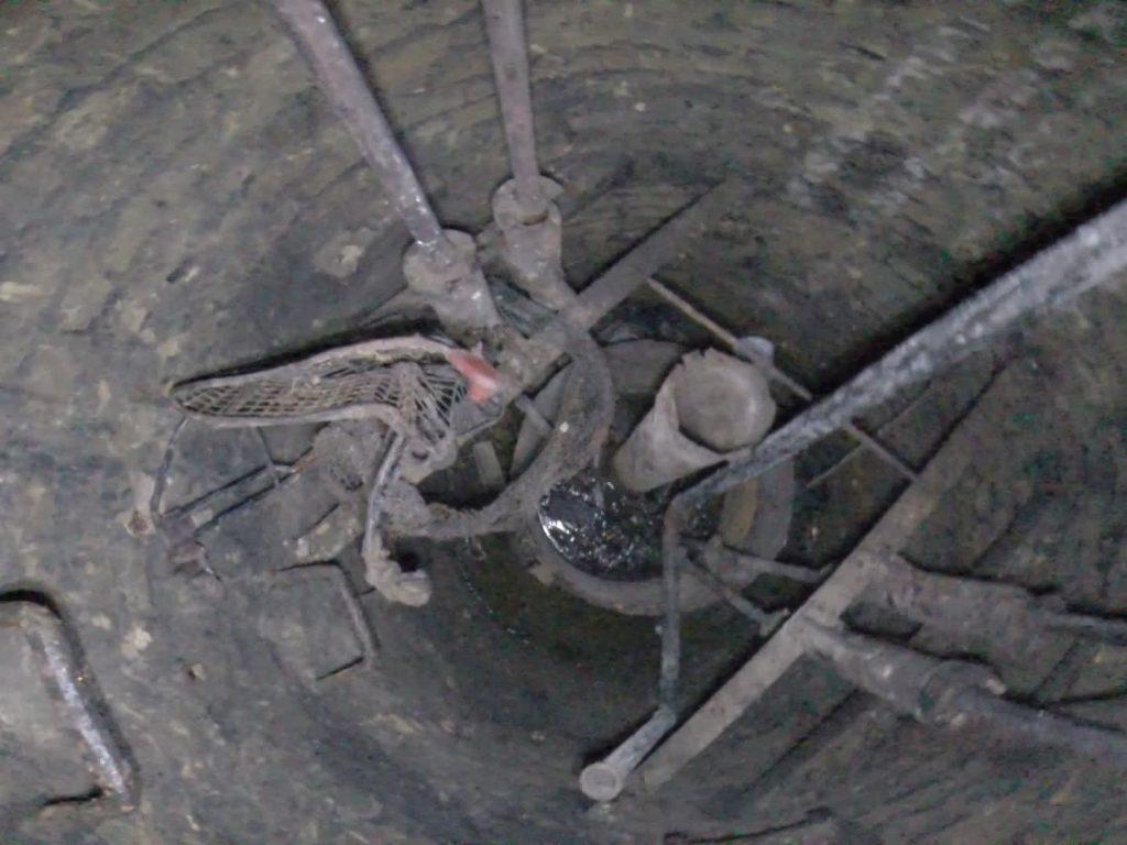 le fond du puits du fort ducrot