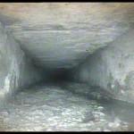 Robot explorer - inspection d'une canalisation de 1870 dans une fortification