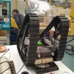 Robot ARES en développement au lycée Couffignal le 18 03 2016