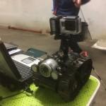 Inspection robotique à EDF
