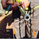 Camera miniature HD spécifique pour l'inspection de sonde géothermique